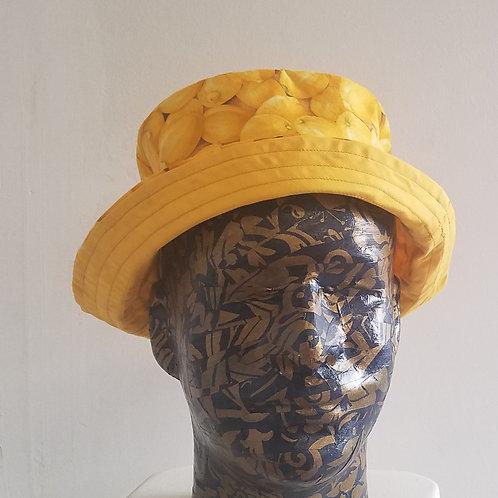 Bucket Hat Lemon Print (Unisex)