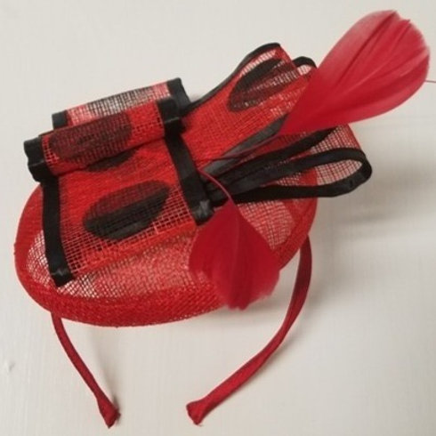 Fascinator Hat with Bow