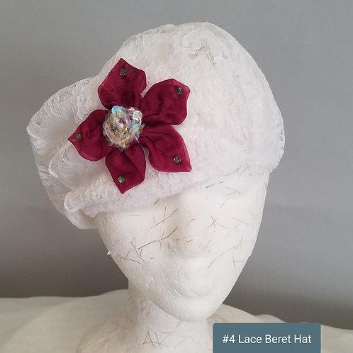 Beret Hat (lace)