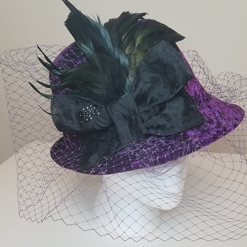 Fedora Hat with veiling