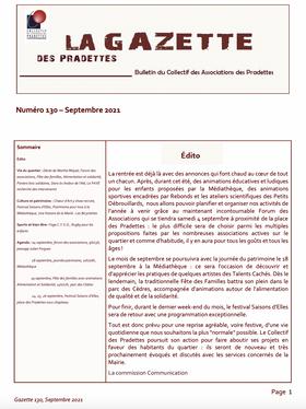 La Gazette des Pradettes