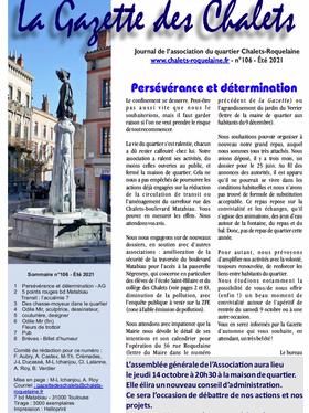 La Gazette des Chalets