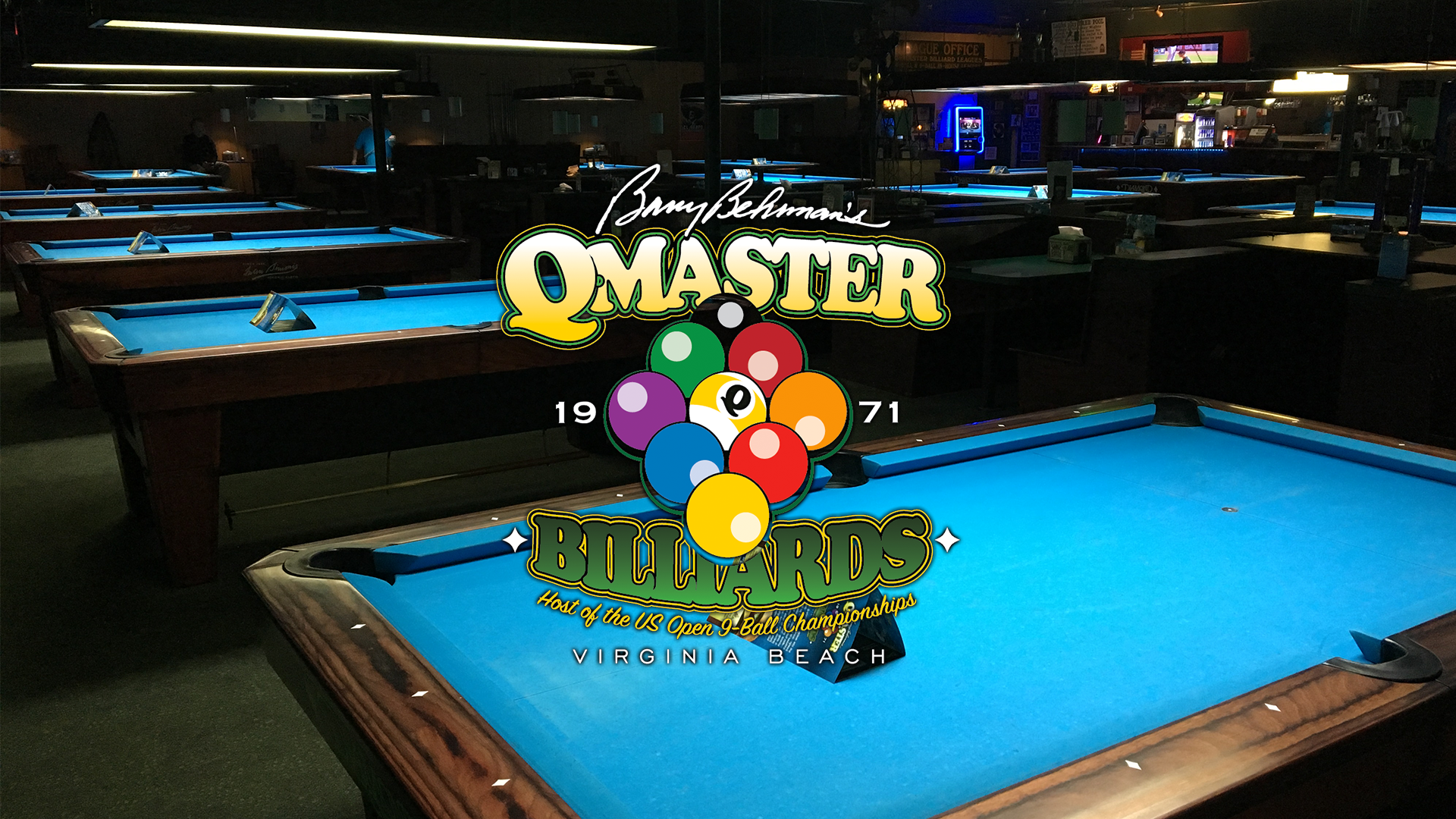 Billiard Room Virginia Beach QMaster Billiards - Cue master pool table