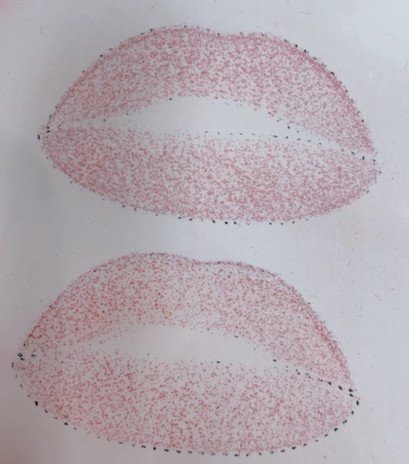 lip blush practice