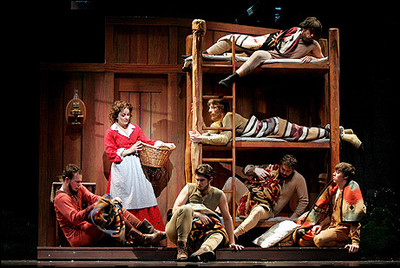 Seven Brides...Brothers, Papermill Playhouse