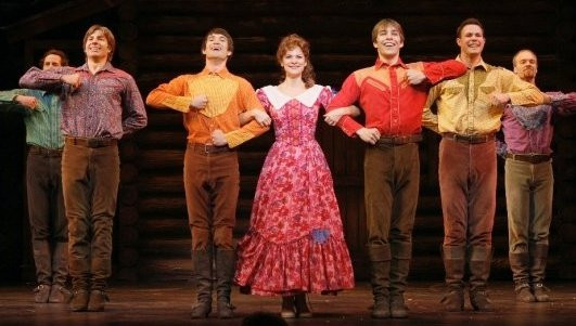 Seven Brides...Brothers, Seattle 5th Avenue Theatre