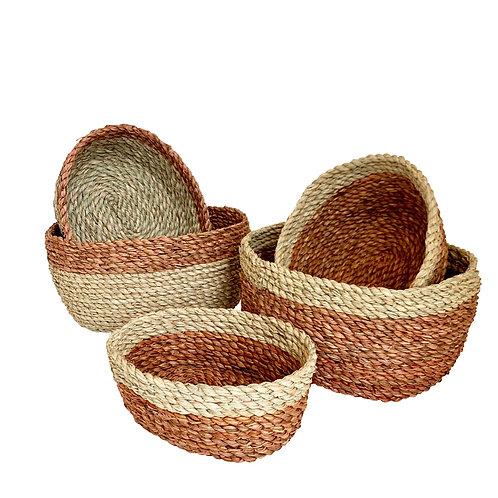 Bi-colour baskets