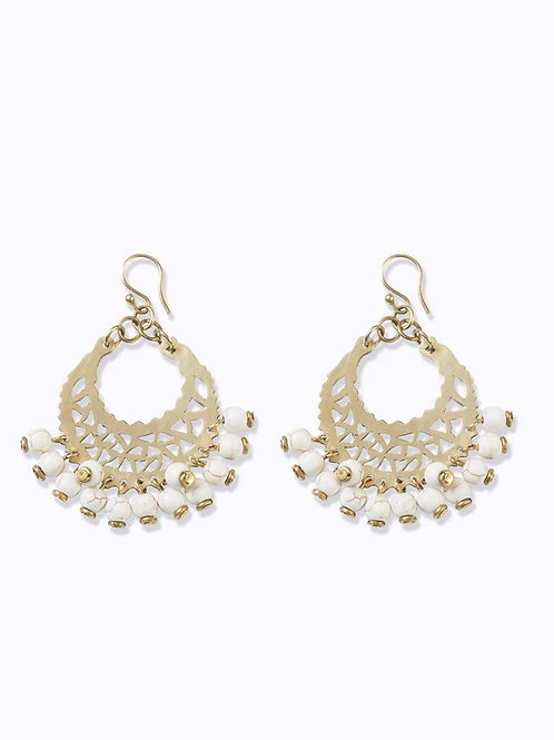 Marrakech Earrings Ash