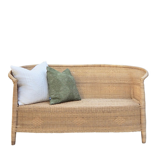 Malawi Traditional 3-seater Closed Weave