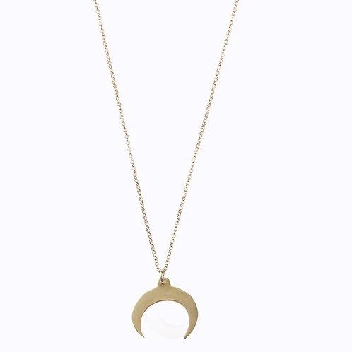 Brass Baby Nguni Necklace Plain chain