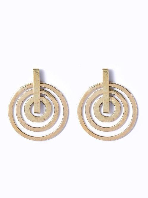 Peace Circle Earrings