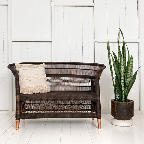 Malawi Traditional 2-seater - Brass/Copper Feet