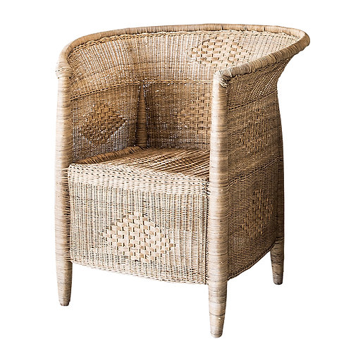 Malawi Traditional 1-seater Closed Weave