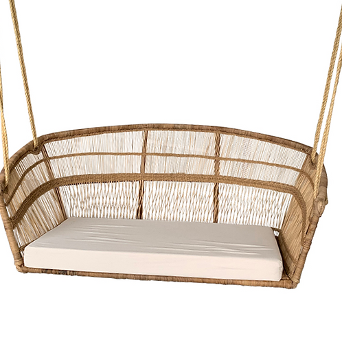 Cushion Traditional Hanging Chair 2-seater