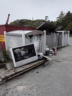 Søppel på Gjeving