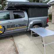 Alu-cab folding table