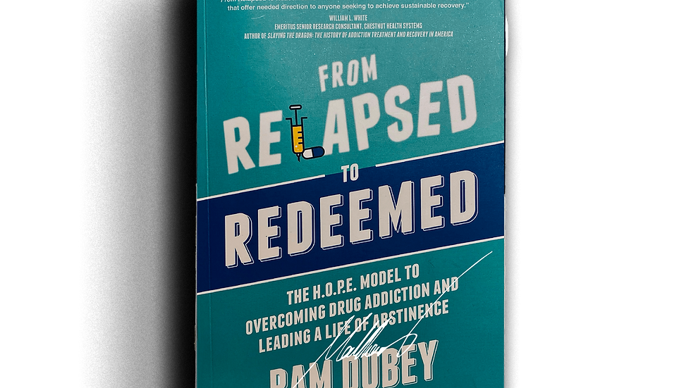 Book - From Relapsed to Redeemed
