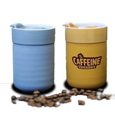 Ceramic Mug with Silicon Sleeve