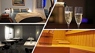Royal Azzurra + Sauna + Le Calandre + Bo