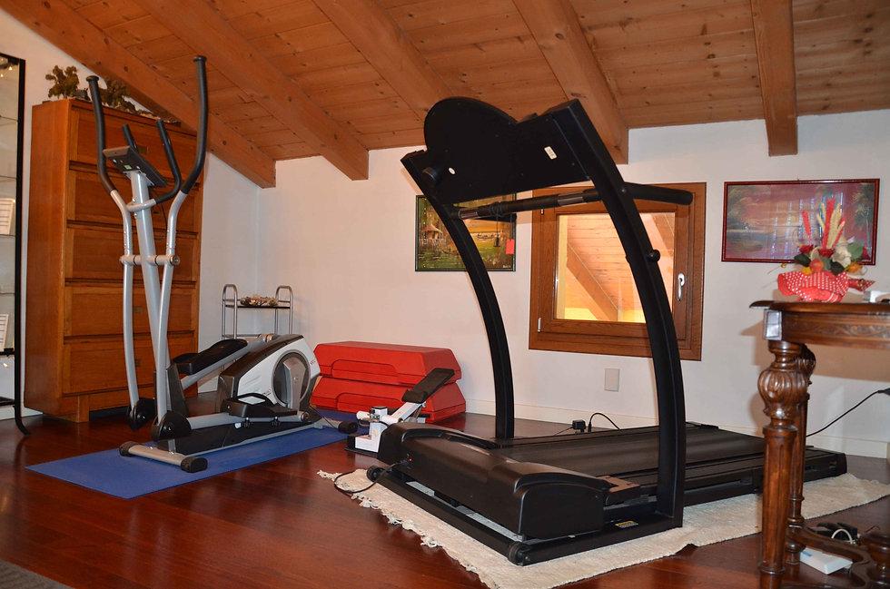 Area fitness, Ellittica e Tapis Roulant