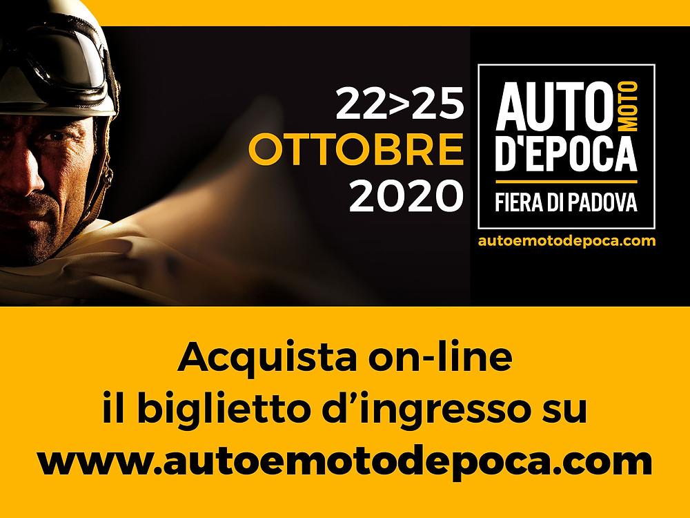 Fiera Auto Moto D'Epoca a Padova