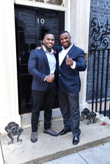 Omar and father at Number 10.jpg