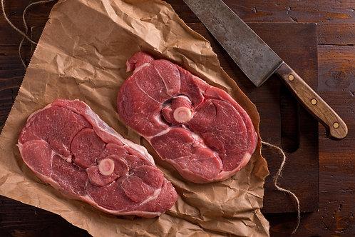 2 tranches de Gigotd'agneau, 450g minimum, soit moins de 27€60/Kg