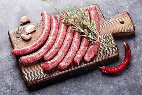 62. Saucisse Chipolata 300g ; 16€/Kg