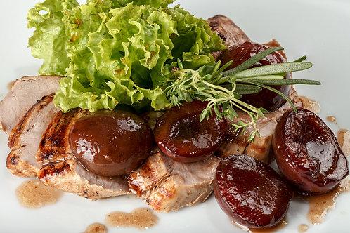 Rôti de porc aux pruneaux et aux figues, 1.4Kg  -  23€/Kg