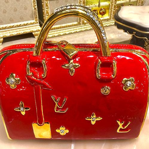L.V. Red Bag