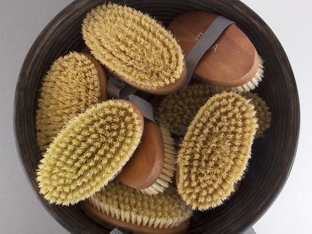 The amazing benefits of dry body brushing