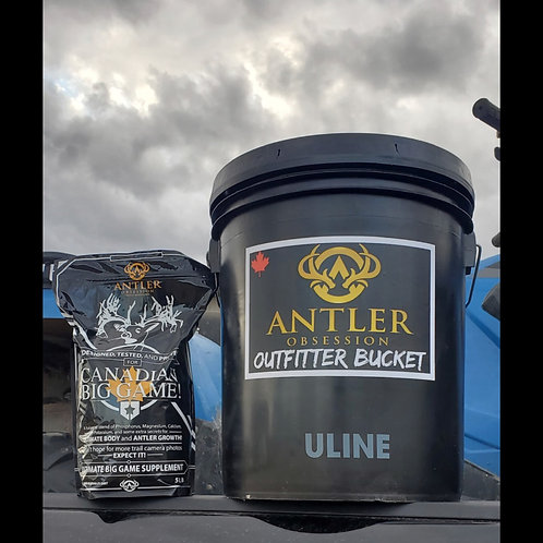 Ultimate Big Game Supplement Outfitter Bucket