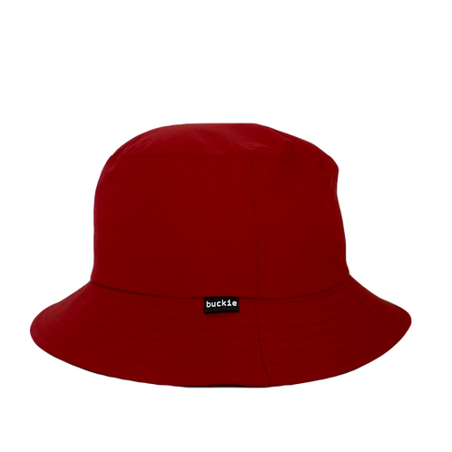 waterproof bucket hat - sunrise red