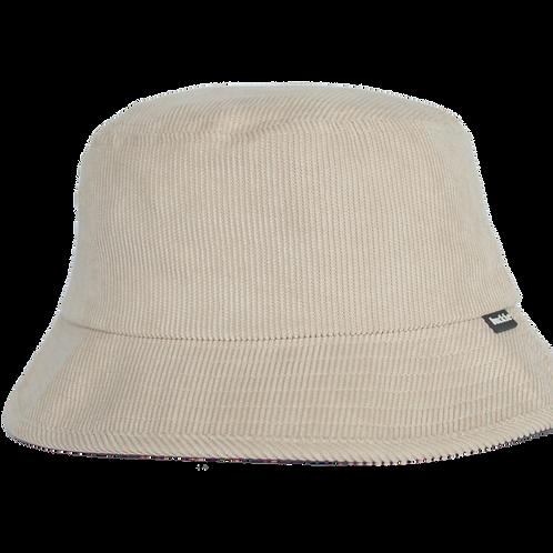 corduroy bucket hat - Beige