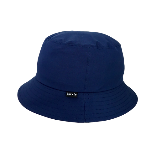 waterproof bucket hat - rainy blue