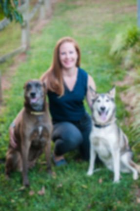 Shannon with Dogs.JPG