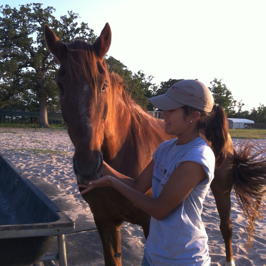 Training with Blind Horse Dupont