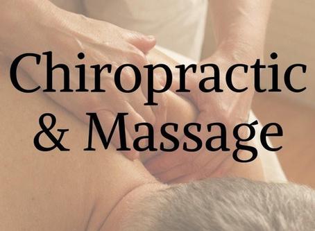 Massage & Chiropractic Care