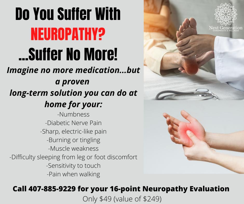 Do you suffer with Neuropathy?