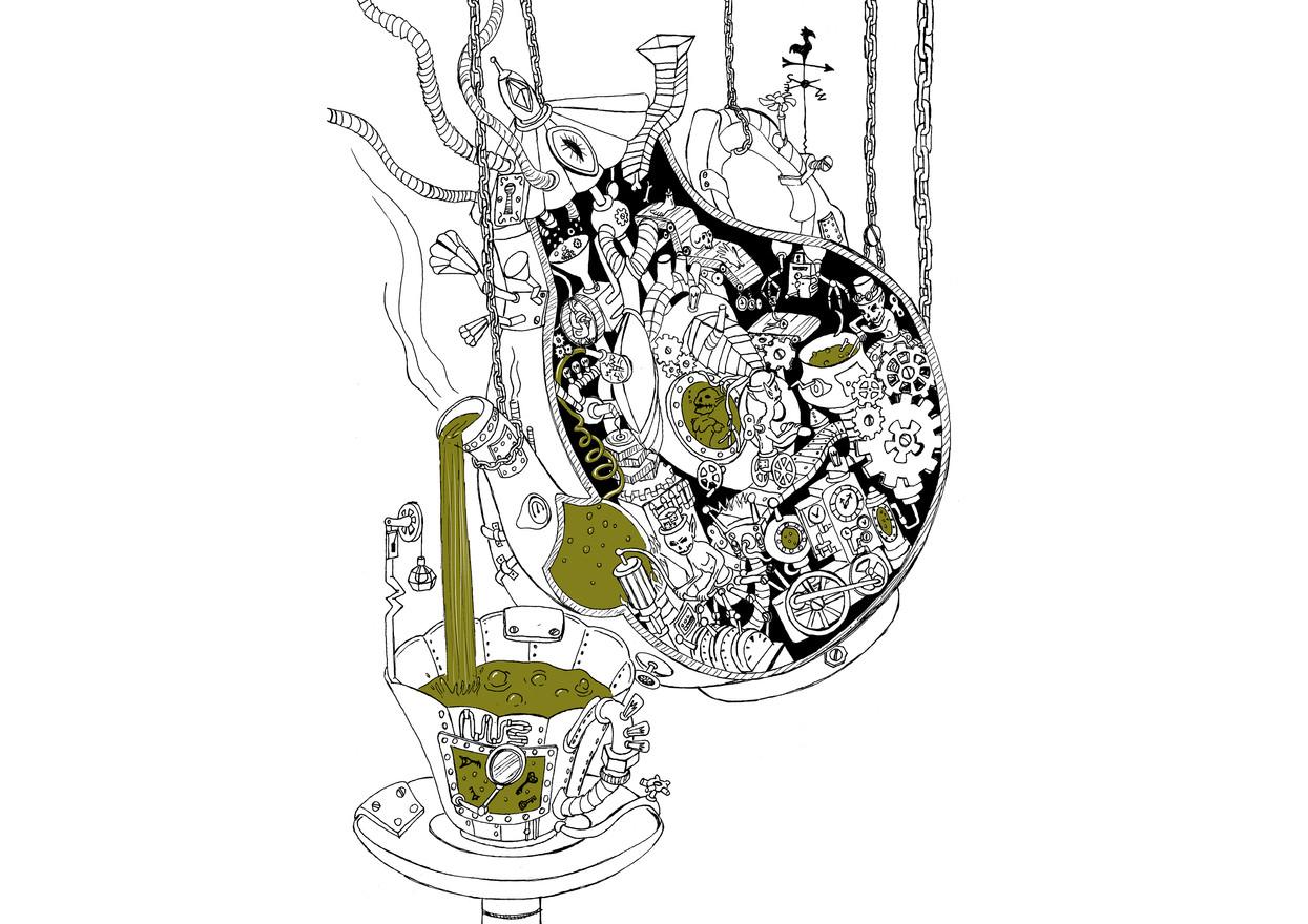 Clockwork Teapot