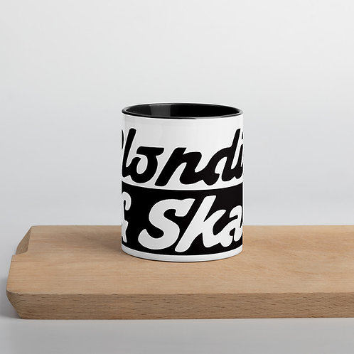 Blondie and Ska Mug with Colour Inside