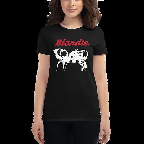 Blondie (Red Logo) - Women's Fashion Fit T-Shirt