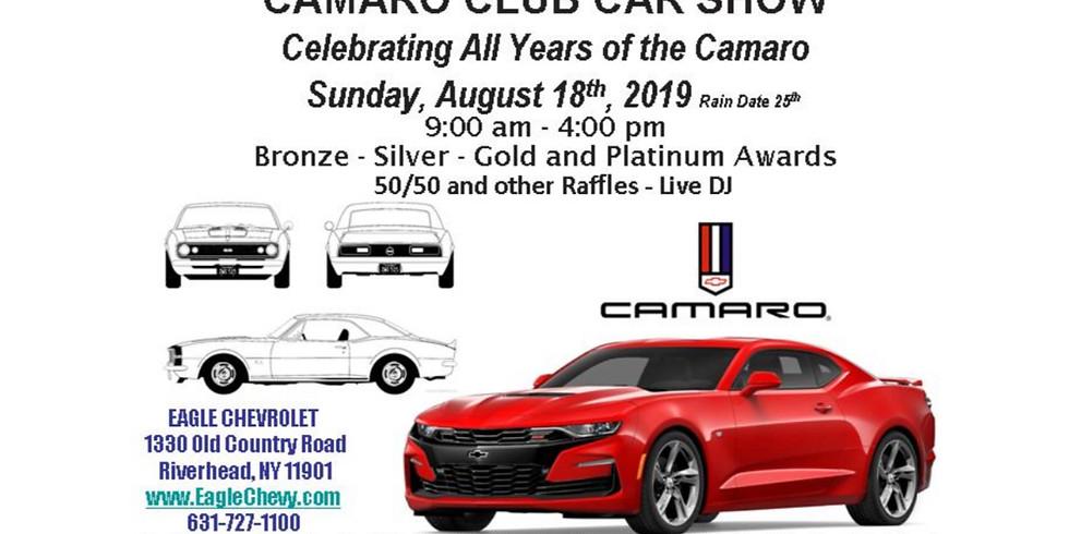 Long Island Camaro Club Car Show