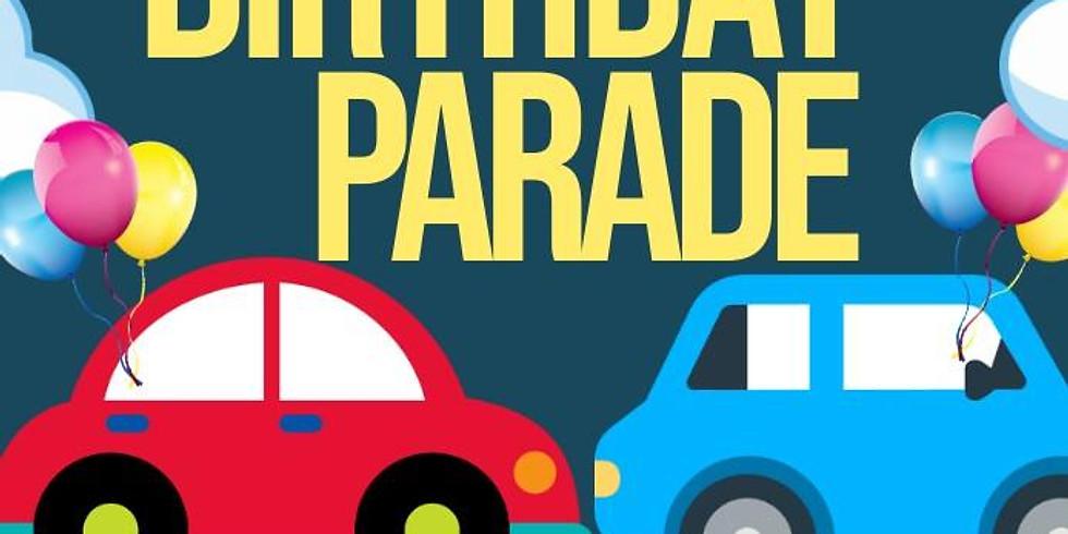 *Surprise* 7th Birthday Car Parade