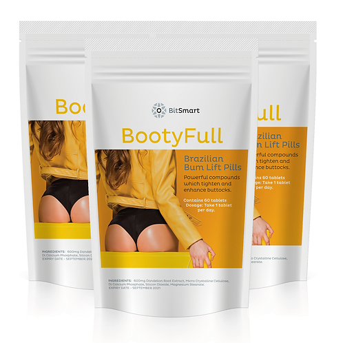 BootyFull - Brazilian Bum Lift (60 Tablets)