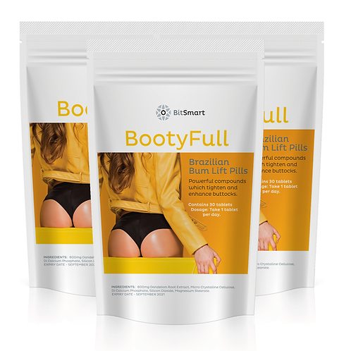 BootyFull - Brazilian Bum Lift (30 Tablets)