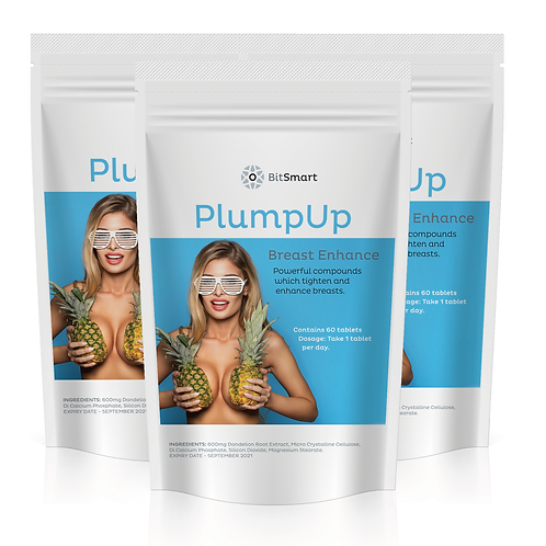 Plump Up - Breast Enhancement (60 Tablets)