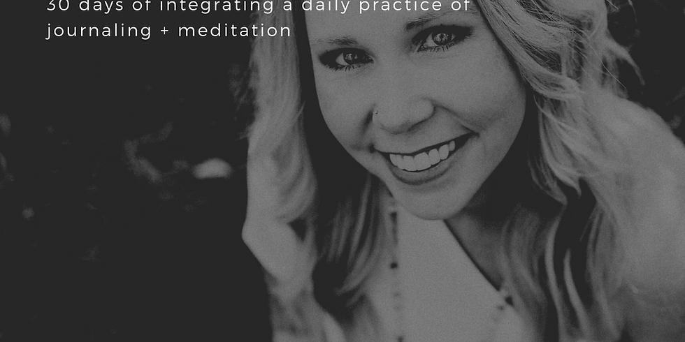 Radical Self Journal + Meditation Challenge