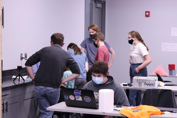 MarshSat Team hard at work!