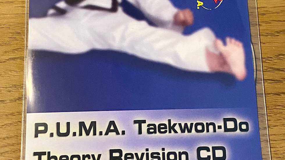 Taekwon-do Theory Revision CD